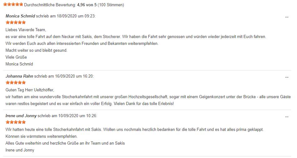 Gutschein Tübingen Empfehlung